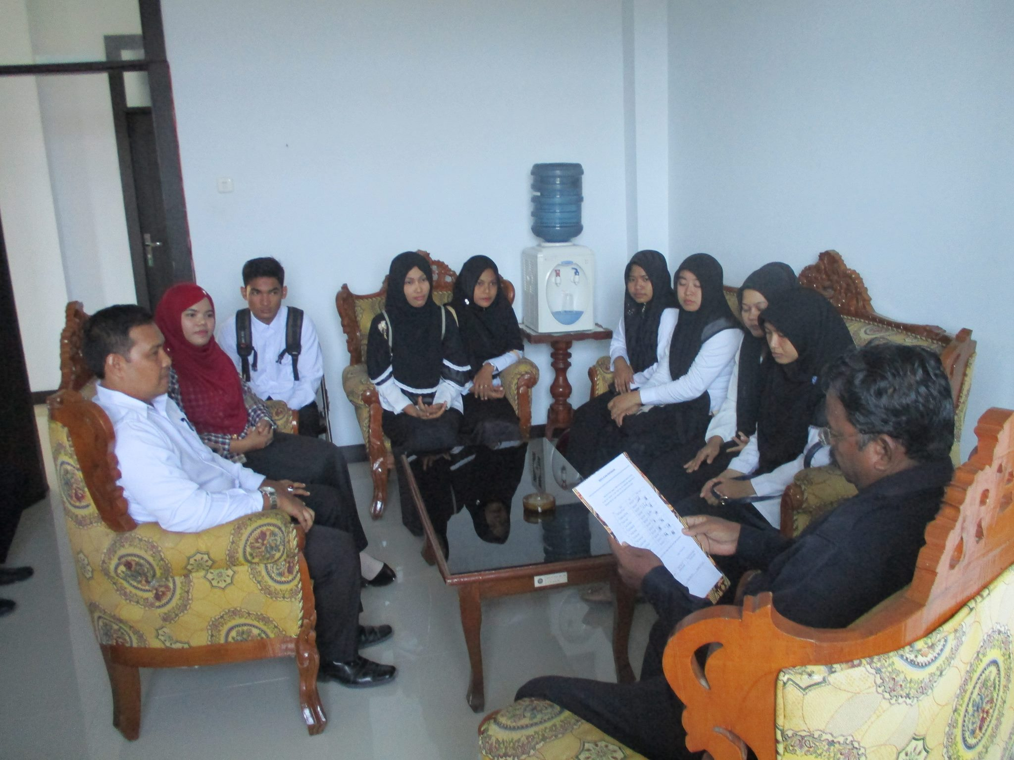 Mahasiswa Lakukan Magang di Mahkamah Syar'iyah