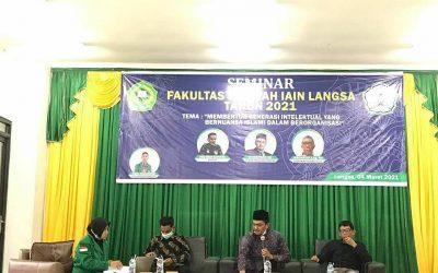 Seminar & Webinar Dewan Eksekutif Mahasiswa (DEMA) Fakultas Syariah Tahun 2021