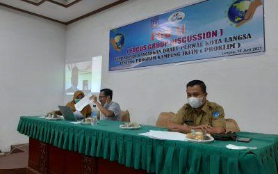 Dosen Fakultas Syariah IAIN Langsa Memenuhi Undangan Forum Komunikasi Sub Das Langsa (FKSDL) dalam Focus Grup Discussion II tentang Pembahasan Draft Rancangan Peraturan Wali Kota Langsa tentang Program Gampung Iklim (ProGlim)