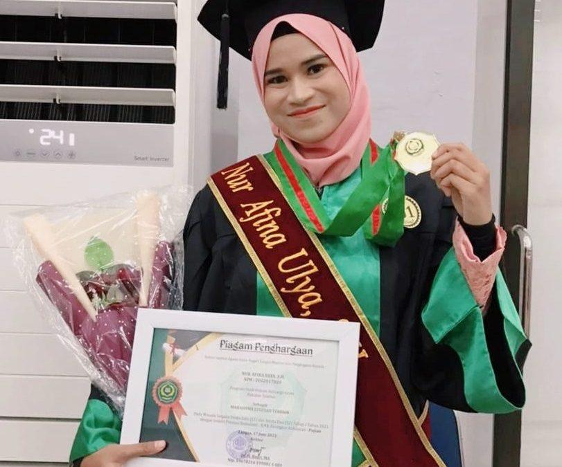 Mahasiswa Prodi HKI Fakultas Syariah IAIN Langsa Menjadi Lulusan Terbaik Se-IAIN Langsa